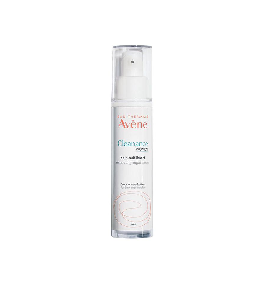Avene Cleanance Women Smoothing Night Cream 30ml