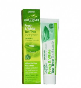 Australian Organic Tea Tree Fresh & White Toothpaste 100ml