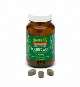Health Aid St. Johns Wort 555ug hypericin / 3.5mg powder 30 tabs