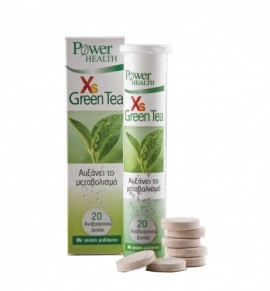 Power Health XS Green Tea, 20s