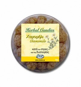 Inoplus Herbal Candies 70gr Χαμομήλι