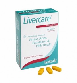 Health Aid Liver Care™ 60 tabs-blister