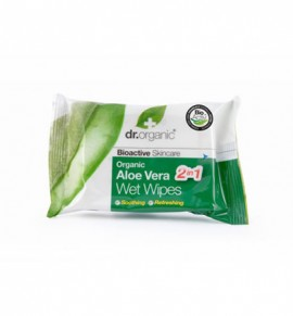 Dr.Organic Aloe Vera Wet Wipes 20τμχ