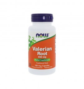 Now Foods Valerian Root 500mg 100caps
