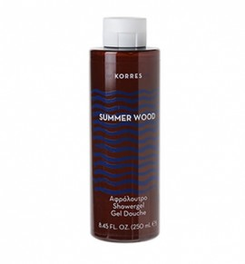Korres Summer Wood Showergel 250ml