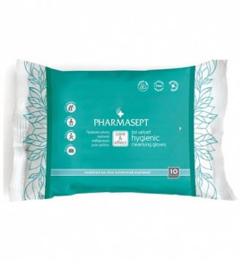 Tol Velvet Hygienic Cleansing Gloves (10 τμχ.)