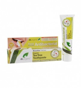 Dr.Organic Tea Tree Toothpaste (Antibacterial) 100ml
