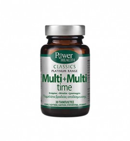 Power Health Platinum Multi+Multi Time 30tabs