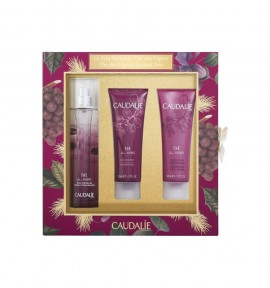 Caudalie The Des Vignes Fresh Fragrance 50ml & Showergel 50ml & Nourishing Body Lotion 50ml