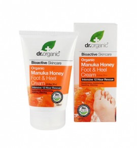 Dr.Organic Manuka Honey Foot and Heel Cream 125ml