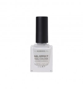 Korres Gel Effect Nail Colour 11 Coconut Smoothie 11ml