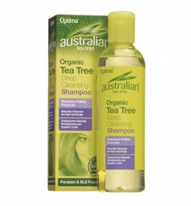 Australian Organic Tea Tree Deep Cleansing Shampoo 250ml