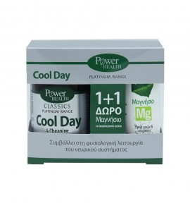 Power Health Platinum Cool Day 30tabs & Δώρο Μαγνήσιο 10s