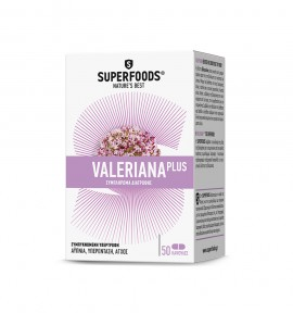 Superfoods Valeriana Plus 50caps
