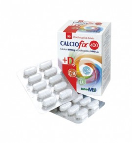 Intermed Calciofix 400 (600mg Calcium+400IU D3) 90tabs