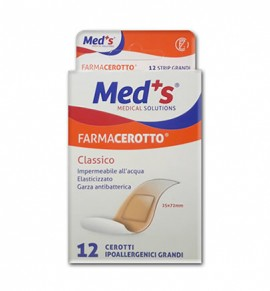 Meds Farmacerrotto 12 Strips Classic 25x72mm (8000246003799)