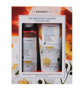 Korres The Bergamot Jasmine Collection Showergel 250ml & Body Milk 200ml