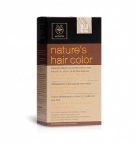 Natures Hair Color 1.0 Μαύρο 50ml