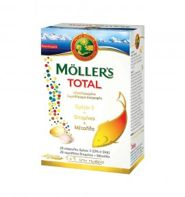 Mollers Total 28caps+28tabs