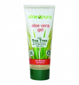 Organic Aloe Vera Gel with Tea Tree 200ml