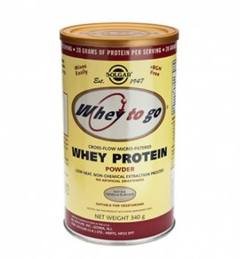 Solgar Whey to Go Protein Powder Σοκολάτα 454gr