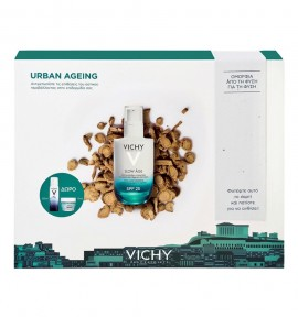 Vichy Promo Slow Age Fluide SPF25 50ml & Eau Thermale Spray 50ml & Quenching Mineral Mask 15ml