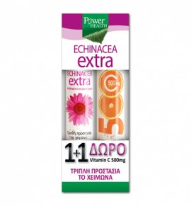 Power Health Echinacea Extra 24s & ΔΩΡΟ Vitamin C 500mg 20s