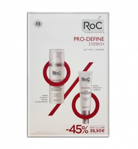 Roc Pro-Define Ελαφριάς Υφής 40ml & Pro-Define Anti-Sagging Firming Concentrate 50ml