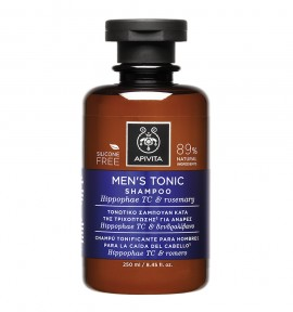 Apivita Holistic Hair Care Mens Tonic Shampoo 250ml