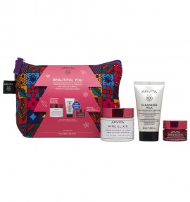 Apivita Wine Elixir Rich 50ml & Δώρο 3 in 1 Cleansing Milk Face & Eyes 50ml & & Night Cream 15ml