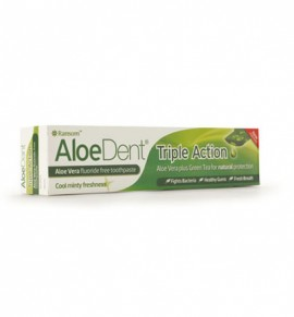 Aloe Dent Triple Action Toothpaste 100ml