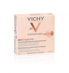 Vichy MineralBlend Healthy Glow Tri-Color Powder Medium 9g