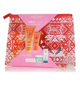 Vichy Ideal Soleil Wet Skin Γαλάκτωμα-Gel SPF50 200ml & Velvet Cream SPF50 50ml & Quenching Mineral Mask 15ml & Mineral 89 5ml