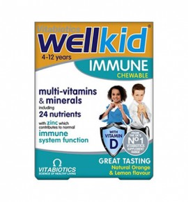 Vitabiotics Wellkid Immune 30 chewable tabs