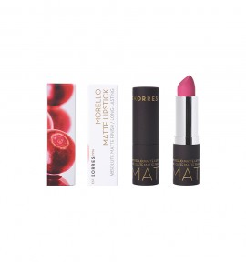 Korres Morello Matte Lipstick 75 Strawberry Fields 3.5g
