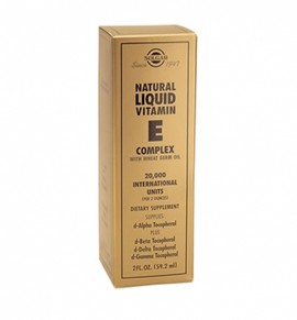 Solgar Natural Liquid Vitamin E Complex 20000IU 59.2ml
