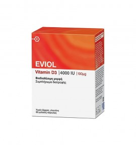Eviol Vitamin D3 4000IU 100μg 60caps