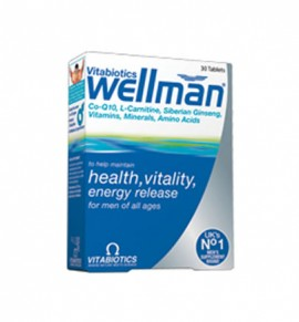 Vitabiotics Wellman Original, 30s