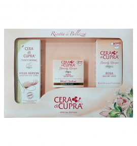 Cera Di Cupra Hand Cream 75ml & Rosa Face Cream for Dry Skin 100ml & Rosa Face Cream for Dry Skin 75ml