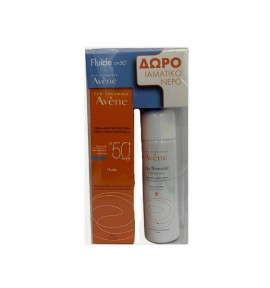 Avene Dry Touch Fluid SPF 50+ 50ml + ΔΩΡΟ Eau Thermale Spray 50ml