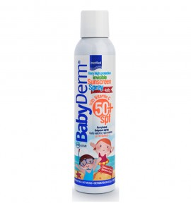Intermed Babyderm Invisible Sunscreen Spray for Kids With Vitamin C SPF50+ 200ml