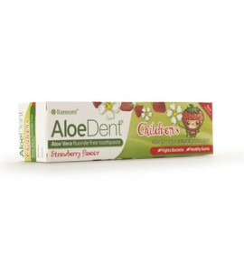 Aloe Dent Strawberry Childrens Toothpaste 50ml