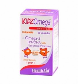 Health Aid KIDZ Omega 60caps Chewable