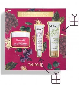 Caudalie Vinosource SOS Intense Moisturizing Cream 50ml & SOS Thirst Quenching Serum 10ml & Moisturizing Mask 15ml