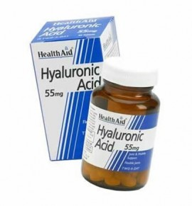 Health Aid Hyaluronic Acid 55mg 30tabs