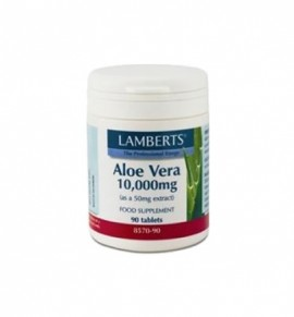 Lamberts Aloe Vera high strength 10.000μg 90 tabs