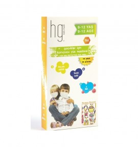 HG Kids Face Mask 9-12 ετών, 10τμχ