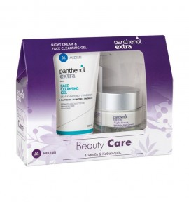 Panthenol Extra Night Cream 50ml & Face Cleansing Gel 150ml