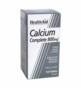Health Aid Balanced Calcium Complete 800mg 120 tabs