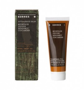 Korres Mountain Pepper/Bergamot/Coriander Aftershave Balm 125ml
